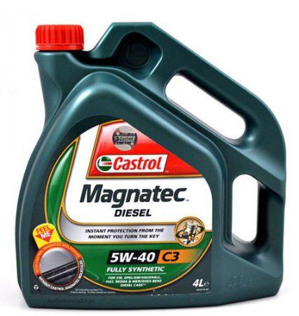 Olej Castrol Magnatec Diesel 5W/40 4L