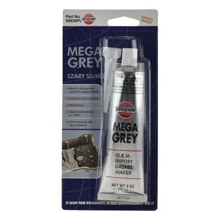 Versachem  Grey Silkon  - szary silikon 85g