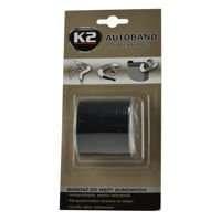 K2 Autoband zbrojona taśma bandaż do węży gumowych Czarna 3m 5cm