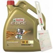 Olej Castrol Edge Titanium FST LL 5W30 5L + zawieszka