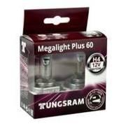 Żarówka H4 Tungsram MegaLight Plus 60% - 2szt