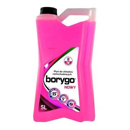 Borygo różowe - gotowy płyn do chłodnic 5L