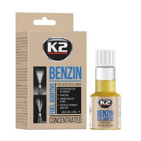 K2 Benzin formuła do czyszczenia wtrysków wtryskiwaczy silników benzynowych 50ml