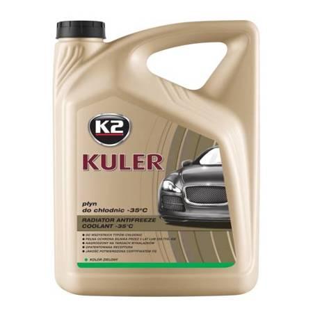 K2 Kuler gotowy płyn do chłodnic samochodowych Zielony 5L