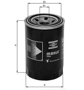 Knecht filtr oleju OC617 - Honda