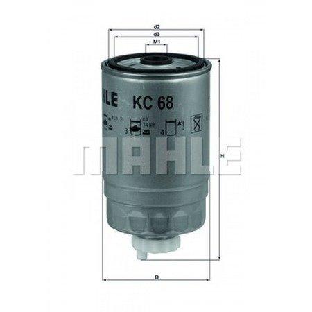 Knecht filtr paliwa KC68 Opel Corsa 1,5Omega 2,5TD