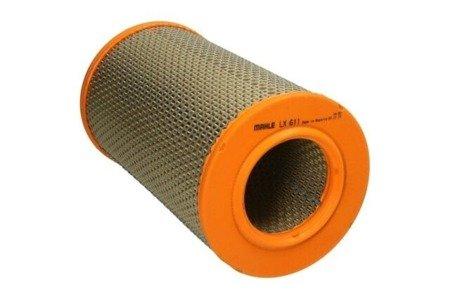 Knecht filtr powietrza LX611 - Peugeot, Citroen, Fiat 1.9TD, 2.0, 2.5TD 94->