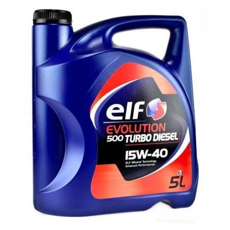 Olej ELF Turbo Diesel 15W40 5L