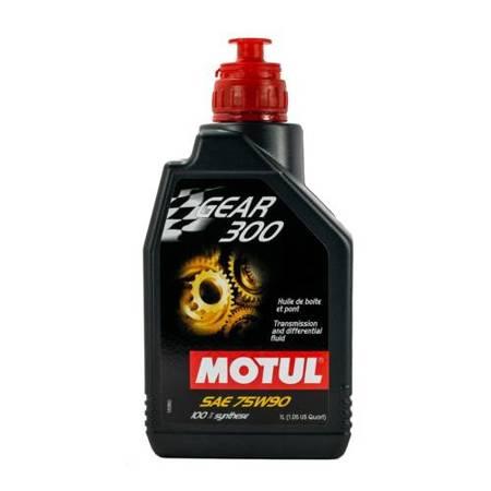 Olej przekładniowy Motul Gear 300 75W/90 1L