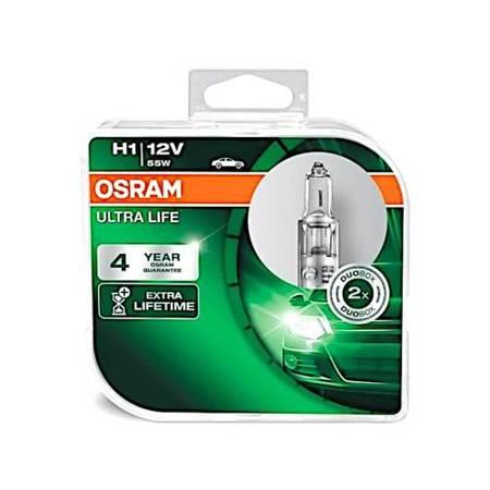 Żarówka samochodowa H1 Osram Ultra Life wydłużona żywotność - 2szt